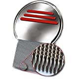 New Head Lice Metal Comb Free Shipping Stainless Steel Long Teeth Terminate Louse