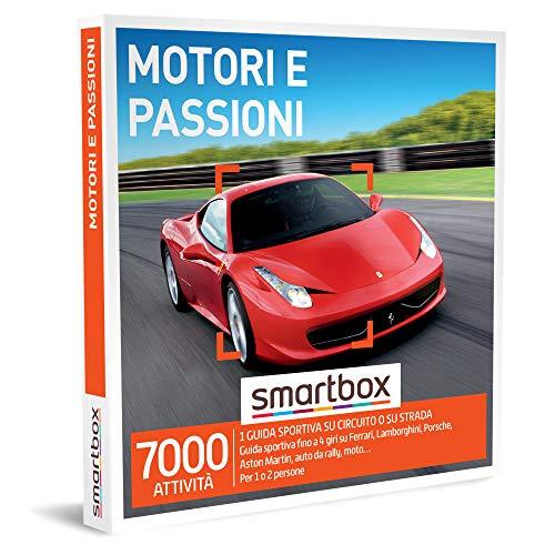 SMARTBOX - Cofanetto regalo per uomo o donna - idee regalo originale - Adrenalinica esperienza di guida sportiva