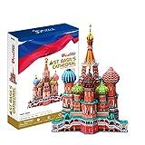 JUCOSUR S.L. Puzzle 3D Catedral De San Basilio De Moscú