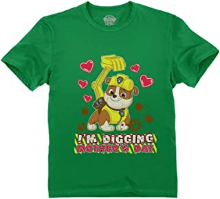 I'm Digging Mother's Day - Rubble Paw Patrol Toddler Kids T-Shirt