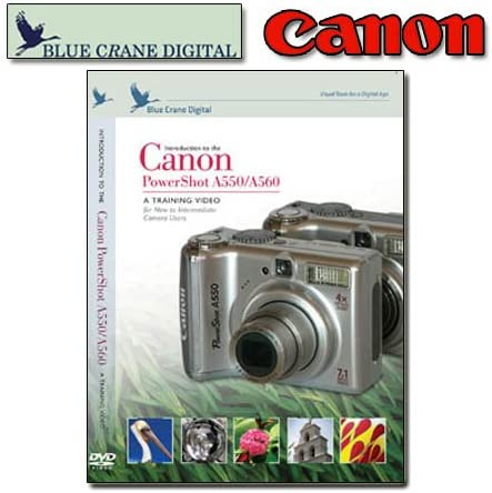 high quality Canon PowerShot A550 outlet sale / A560 - A training Video new arrival for New to Intermediate Camera Users (TUTORIAL DVD) outlet sale