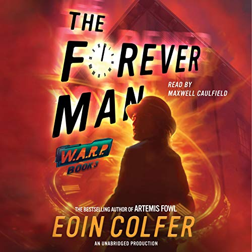 The Forever Man audiobook cover art