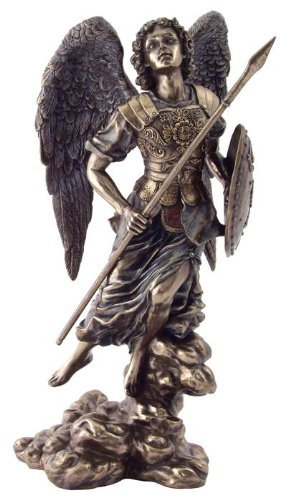 TLT Erzengel Raphael Statue Figur Rafael San Saint Angel Santo 33 cm