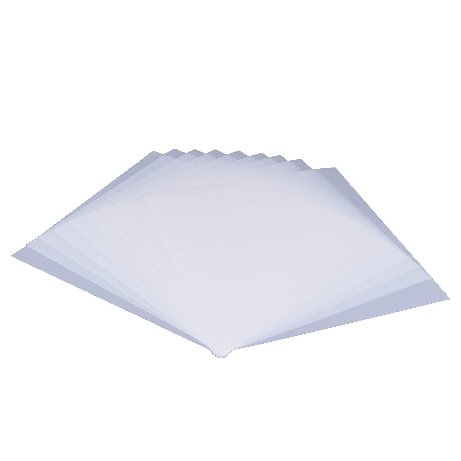 12in x 18in Bundle of EZ International Quilting by Wrights Blank Plastic Template Sheets 5 Sheets