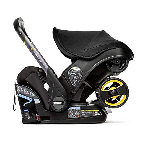 Doona Infant Car Seat & Latch Base – Car Seat to Stroller – Nitro Black – US Version