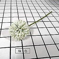 LIZANAN 家の装飾 人工花秋のホームデコレーション秋ペーパークラフトシルク白い花フルールのフェイク植物園フィオーリfintiを干し 花 (Color : 2)