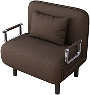 Folding Sleeper Bed Chair,Single Sleeper Convertible Chair Lounger Couch Bed Chair Alalaso(Ship from USA)