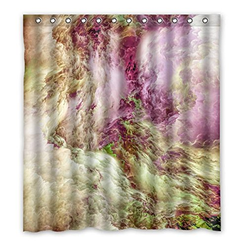 167 cm X183 cm (167,6 x 182,9 cm) Badezimmer Dusche Vorhang, Universal Abstraktes Muster Custom Hintergr& Design Wasserdicht Polyester Stoff Duschvorhang Schimmel, Polyester, E, 168 x 183 cm