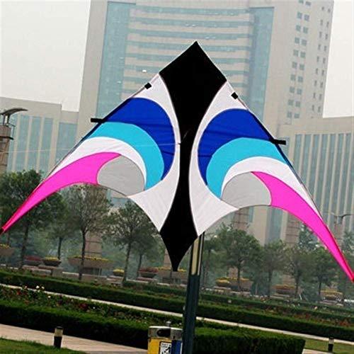 YF-SURINA Cometa al aire libre Diversión al aire libre Deportes El nuevo Paño de paraguas de 2.8 M Power Kite Eye en el cielo Volando Fácil de llevar,Color