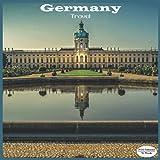 Germany Travel Calendar 2022: 16 Month Squire Calendar 2022