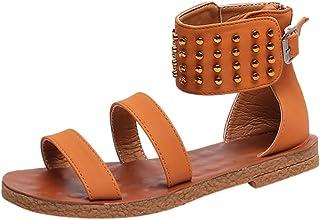 71e952324d8ed Chaussures Femme Sandales à La Mode pour Femmes D Été à Boucle à Léopard  Sandales