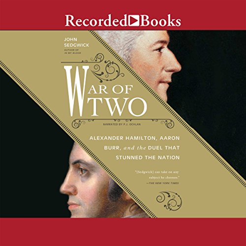War of Two audiobook cover art