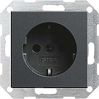 Gira 046628 Schuko-uttag utan klosystem 55, antracit
