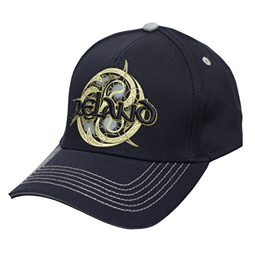 Traditional Craft Navy Ireland Celtic Swirl Baseball Cap