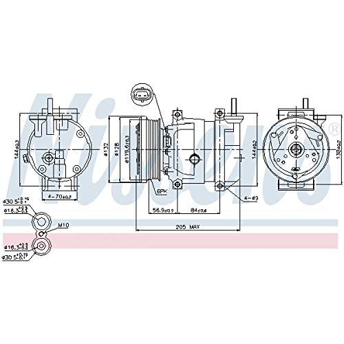 Nissens 89221 Clima compressori