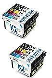 Lot 10 cartouches encre compatibles Grande Capacité pour Epson Expression Home XP-102, XP-207, XP-225, XP-305, XP-322, XP-402, XP-415, XP-202, XP-212, XP-30, XP-312, XP-323, XP-405, XP-422, XP-205, XP-215, XP-302, XP-315, XP-325, XP-412, XP-425