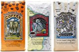 Raven's Brew Whole Bean Coffee Variety Pack - Number 1 - Three Peckered Billy Goat, Deadman's Reach and Resurrection Blend - 12oz 3-pack