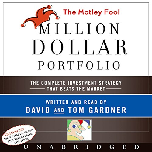The Motley Fool Million Dollar Portfolio audiobook cover art