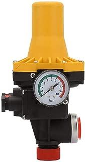 Automatic Water Pump Pressure Controller 110-120V 220~240V 10Bar for Self-Priming Pump, Jet Pump, Garden Pump, Clean Water Pump, Centrifugal Pump