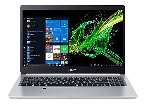 Acer Aspire 5 - 15.6' Laptop Intel Core i5-10210U 1.6GHz 8GB Ram 256GB SSD W10H (Renewed)