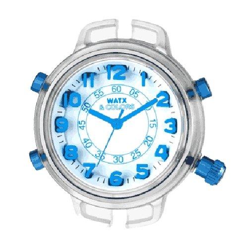 Watx&Colors XS Big Ben Reloj para Niño Analógico de Cuarzo con Brazalete de Goma RWA1562