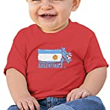 Cml519 Football Worldcup Argentina Argentines Soccer Team Footballer Rugby Gift Baby T-Shirt,Baby T Shirts 6-24 Months