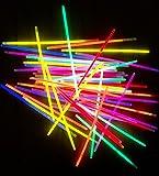 molinoRC 100 Knicklichter 6-FARBMIX | leuchten ewig | Komplett-Set inkl. 100x Verbindungsstücke | deutsche Marke
