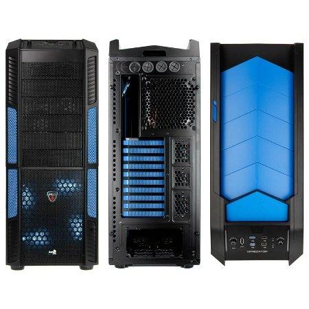 Aerocool XPredator Evil Blue Window, ohne Netzteil