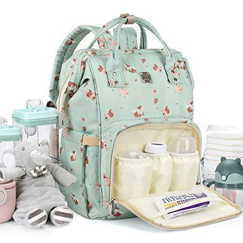 Waterproof Large Baby Diaper Bag Backpack Multi-Function...