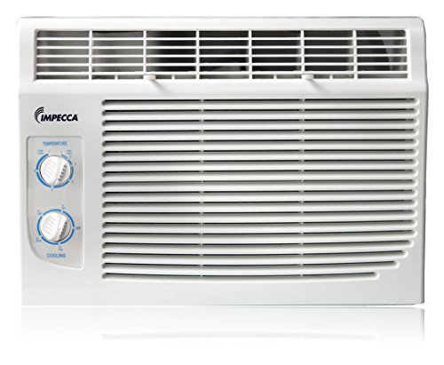 Impecca 5,000 BTU/h Mechanical Controlled Mini Window Air Conditioner,
