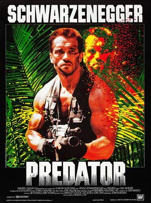 Import Posters Predator – French Movie Wall Print - 30CM X 43CM
