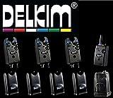 3 Delkim TXi Plus Bissanzeiger + RX Receiver Plus Pro 6 Led