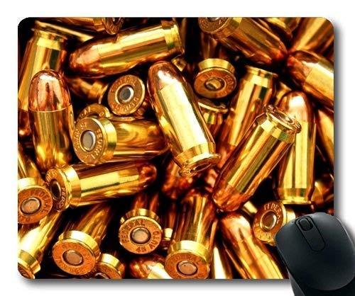 Mausmatte, Waffenständer, Kugel, Mauspad mit genähten Kanten