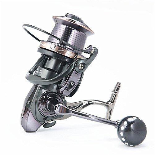 GDSZ 12000-9000 Full Metal Spool Jigging Trolling Long Shot Casting para Carpa Y Agua Salada Surf Spinning Fishing Reel,12000