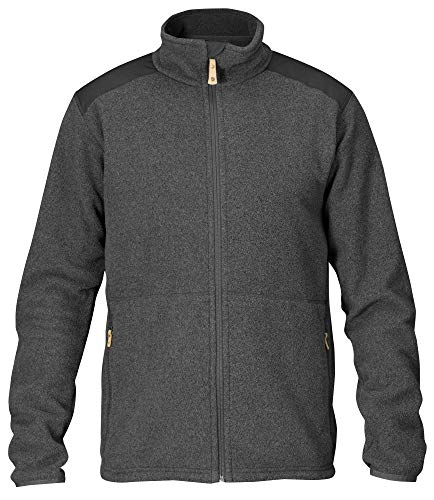 FJÄLLRÄVEN Sten Fleece M Sweat-Shirt Homme, Dark Grey, FR : S (Taille Fabricant : S)