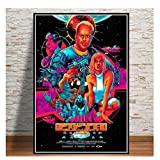 The Fifth Element Classic Sci-Fi Movie Poster and Prints Art Paintings Canvas Printings Wall Pictures Home Decor -50x70cm No Frame