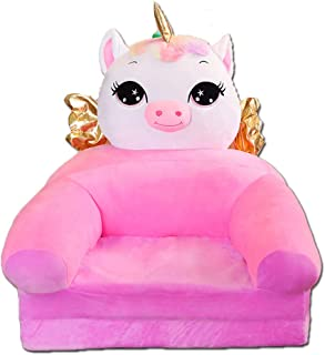 PUDDINGT  Children s Armchair  Children sofa Cartoon Girl and Boy Birthday Gift Toy Lazy Upholstered Cute Baby Small Sofa Seat Kid Chair Washable