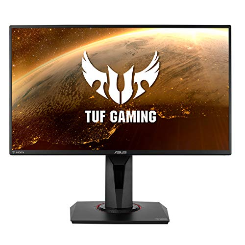 ASUS TUF Gaming VG259Q, 25 Inch(24.5 Inch) FHD (1920x1080) Gaming monitor, 1ms(MPRT), up to 144Hz, DP, HDMI,  Super Narrow Bezel, FreeSync, Low Blue Light, Flicker Free
