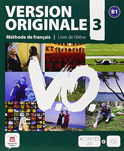 Version Originale 3: Livre de l'élève + CD audio