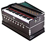 Laying Style Best Harmonium 9 Stopper, Chudidaar Bellow, 42 Key, Two Reed(Bass-Male),3 1/2