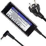 FSKE® Ordenador portátil Original Cargador adaptadore para HP Notebook,Salida del Adaptador: 19.5V 4.62A 90W,adaptadore Conector:4.5 * 3.0mm