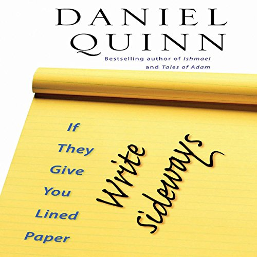 If They Give You Lined Paper, Write Sideways audiobook cover art