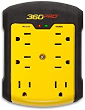 360 Electrical 36002-2CA6ES 360 Pro Surge 6 outlet wall tap