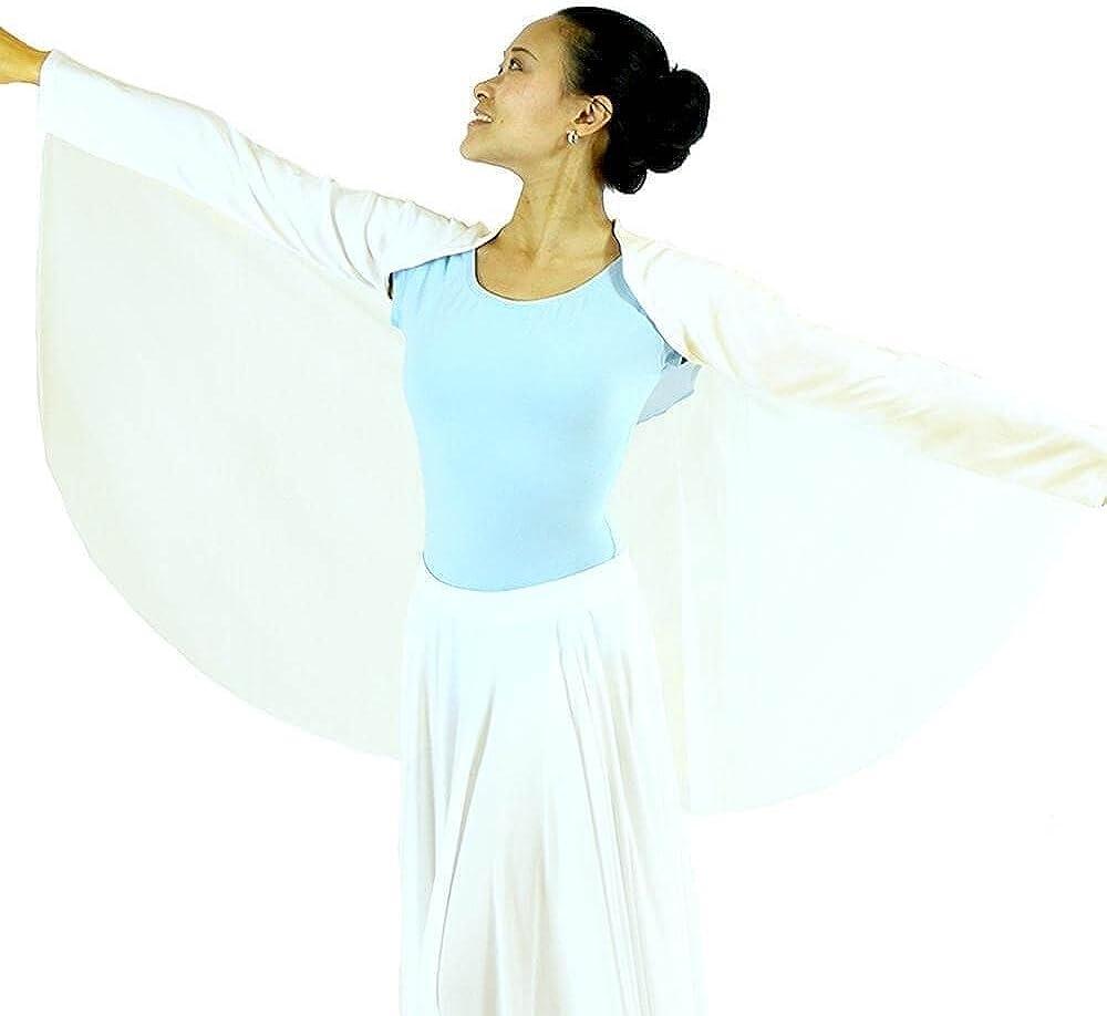 Danzcue Womens Worship Dance Angel Wing Shrug