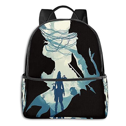 Horizon Zero Dawn School Classic Backpack 15 Inch Laptop Backpack Men and Women Waterproof Casual Backpack