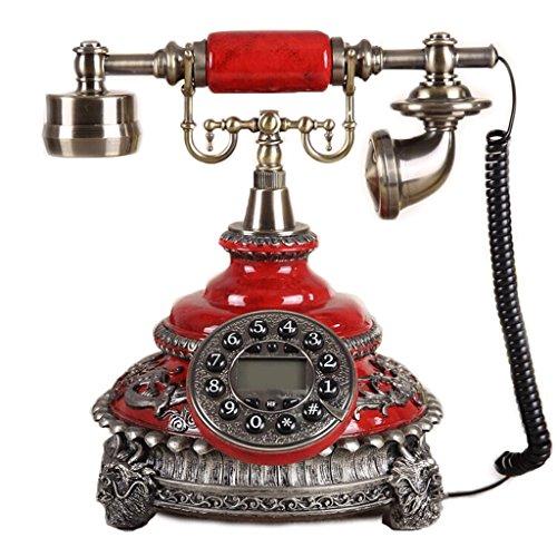 ZhuFengshop telefoon, vaste telefoon, retro stoel, oldtimer, nostalgisch, school, huis, kantoor, business