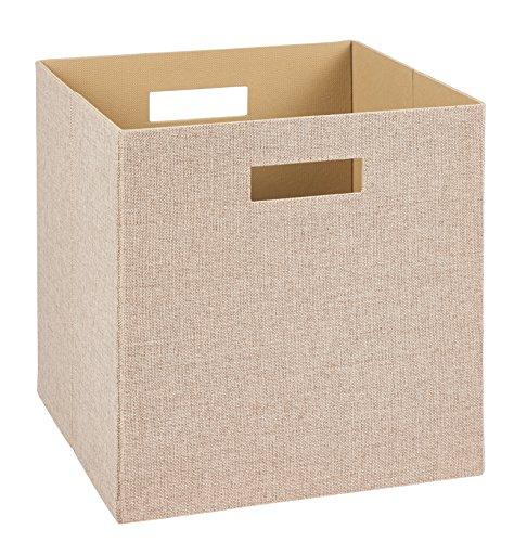 ClosetMaid Decorative Fabric Storage Bin, Tan