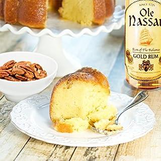 The Bahamas Rum Cake Factory Ole Nassau Original with Pecans Rum Cake, 20 oz
