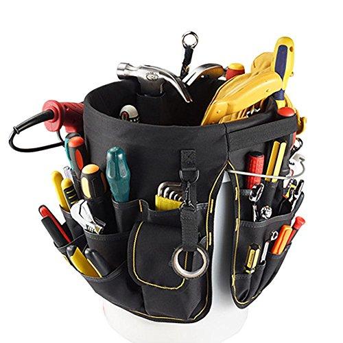 AUTOECHO Werkzeugtasche, 56 Taschen, multifunktionales Reparaturset, Werkzeug-Organizer
