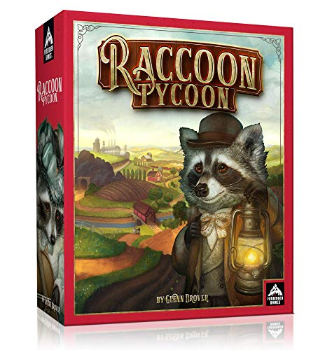 Forbidden Games  Raccoon Tycoon Standard Edition  Board Game